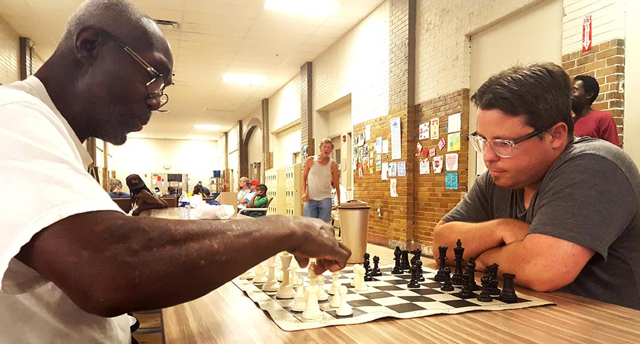 Shared Love of Chess Helps Build Bridges at St. Louis Homeless Shelter