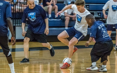 Fast-Paced Futsal Match Fosters Awareness of Homelessness