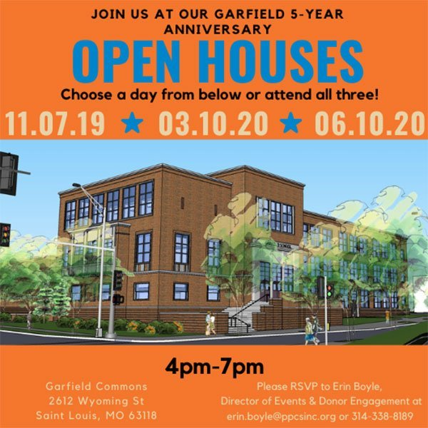 Garfield 5-Year Anniversary Open Houses